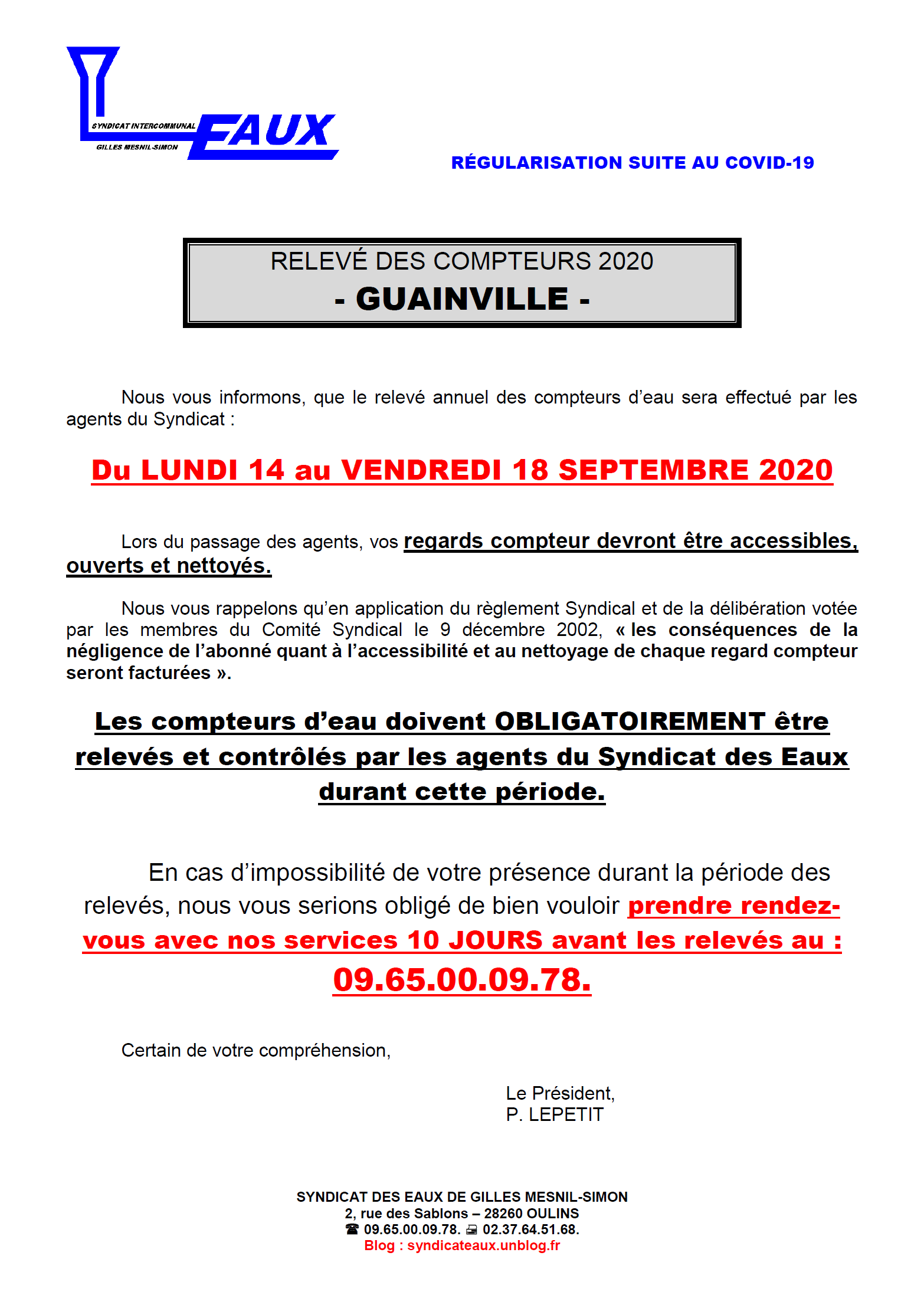 syndicat septembre